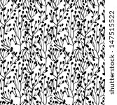 cute seamless floral pattern.... | Shutterstock .eps vector #147515522