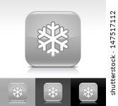 snowflake icon. gray color...