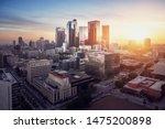 Panorama Of Los Angeles At...