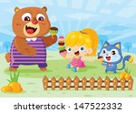 happy ice cream | Shutterstock .eps vector #147522332