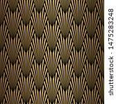 art deco pattern. seamless... | Shutterstock .eps vector #1475283248