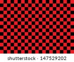 Red And Black Squares. Vector