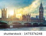 Big Ben And Westminster Palace...