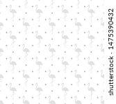 seamless wallpaper with... | Shutterstock .eps vector #1475390432