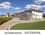 state offices backyard and...   Shutterstock . vector #147539096