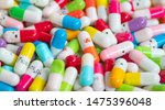 collection of the colorful... | Shutterstock . vector #1475396048