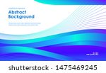 asbtract background with blue... | Shutterstock .eps vector #1475469245
