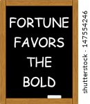 fortune bold quote virgil | Shutterstock .eps vector #147554246