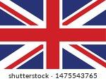 bandeira do reino unido  united ... | Shutterstock .eps vector #1475543765