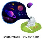 Isometric Astronomical...