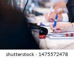 closeup shot of business people ...   Shutterstock . vector #1475572478