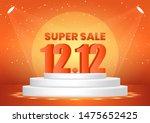 december 12 super sale shopping ... | Shutterstock .eps vector #1475652425