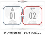 infographic business horizontal ... | Shutterstock .eps vector #1475700122