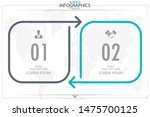 infographic business horizontal ... | Shutterstock .eps vector #1475700125