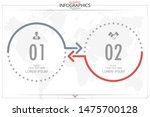 infographic business horizontal ... | Shutterstock .eps vector #1475700128