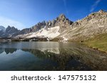 lakes of the plans and monte... | Shutterstock . vector #147575132