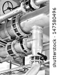 large industrial boiler room | Shutterstock . vector #147580496