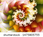 Colourful Spinning Floral...