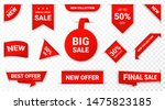 set of new stickers  sale tags... | Shutterstock .eps vector #1475823185