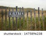 Private Beach Property Path ...