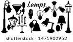 lamp  floor lamp  wall lamp.... | Shutterstock .eps vector #1475902952