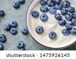 Bowl With Yogurt And...
