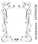calligraphy ornamental... | Shutterstock .eps vector #147593258