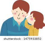 illustration of a kid girl... | Shutterstock .eps vector #1475933852