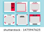 set of sale banner template... | Shutterstock .eps vector #1475947625