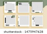 set of sale banner template... | Shutterstock .eps vector #1475947628