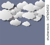abstract clouds background... | Shutterstock .eps vector #147604352