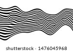 Wave Lines Pattern Abstract...