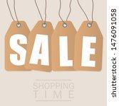 sale inscription design... | Shutterstock . vector #1476091058