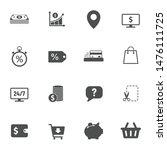 e commerce vector icons set... | Shutterstock .eps vector #1476111725