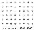 e commerce vector icons large... | Shutterstock .eps vector #1476114845