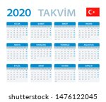 vector template of color 2020... | Shutterstock .eps vector #1476122045