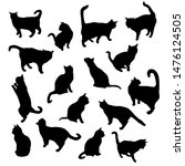 set vector silhouettes of the... | Shutterstock .eps vector #1476124505