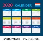 vector template of color 2020... | Shutterstock .eps vector #1476130238
