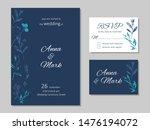 vector wedding floral... | Shutterstock .eps vector #1476194072