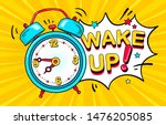 background with comic alarm... | Shutterstock .eps vector #1476205085