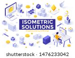 collection of isometric design...   Shutterstock .eps vector #1476233042