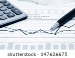 financial graphs  | Shutterstock . vector #147626675