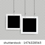 retro realistic photo frame... | Shutterstock .eps vector #1476328565