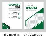 business annual report modern... | Shutterstock .eps vector #1476329978