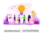 businessmen making agreement.... | Shutterstock .eps vector #1476359402