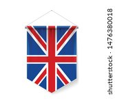 vertical pennant flag of great...   Shutterstock .eps vector #1476380018