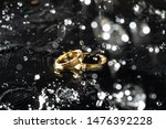 diamond and rings wedding on... | Shutterstock . vector #1476392228