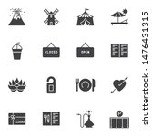 miscellaneous vector icons set  ... | Shutterstock .eps vector #1476431315