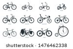 bicycle types silhouette...   Shutterstock .eps vector #1476462338