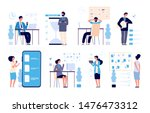 effective time management. man... | Shutterstock .eps vector #1476473312